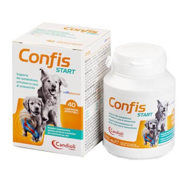 Confis Start Cani 40 Compresse - Supporto Metabolismo delle Articolazioni