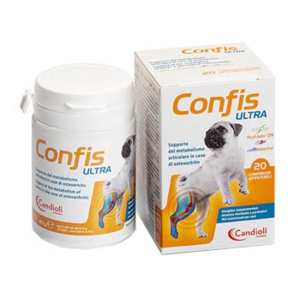 Confis Ultra Cani 20 Compresse - Supporto Metabolismo Articolare