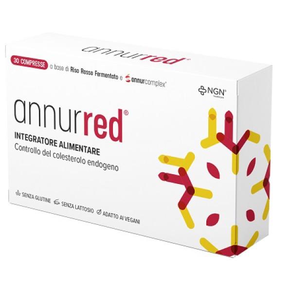 AnnurRed 30 Compresse - Integratore per il Colesterolo