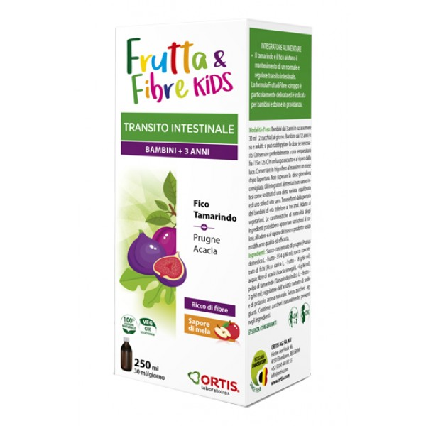 Frutta e Fibre Sciroppo Delicato 250 ml