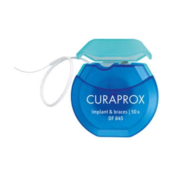 Curaprox Dental Floss 844 Implant & Braces 50 Fili