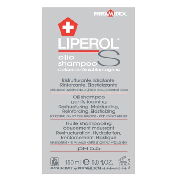 Liperol S Olio Shampoo Ristrutturante e Idratante 150ml