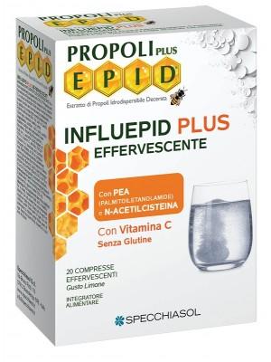Specchiasol Influepid Plus 20 Compresse Effervescenti - Integratore Difese Immunitarie