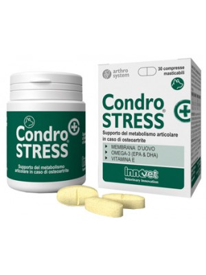 Condrostress+ 30 Compresse Masticabili - Integratore per Osteoartrite Cani