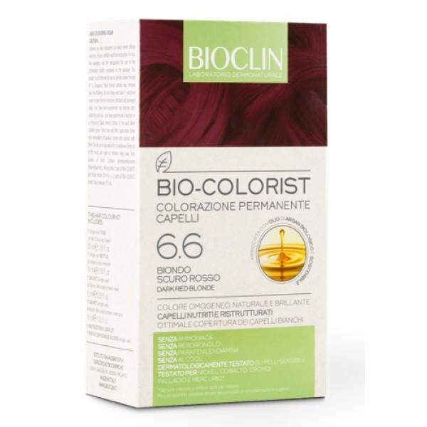 Bioclin Bio Colorist 6.6 Biondo Scuro Rosso Tintura Naturale per Capelli
