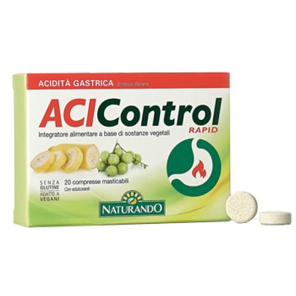 Acicontrol Rapid 20 Compresse - Integratore Alimentare
