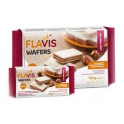 Mevalia Flavis Wafer alla Nocciola Aproteici e senza Glutine 150gr