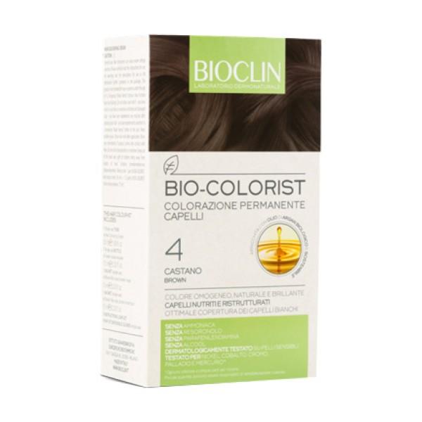 Bioclin Bio Colorist 4 Castano Tintura Naturale per Capelli