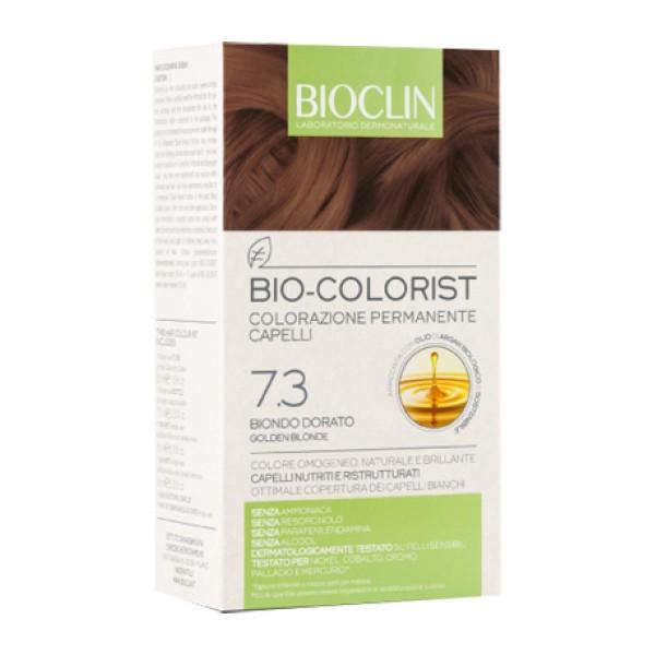 Bioclin Bio Colorist 7.3 Biondo Dorato Tintura Naturale per Capelli