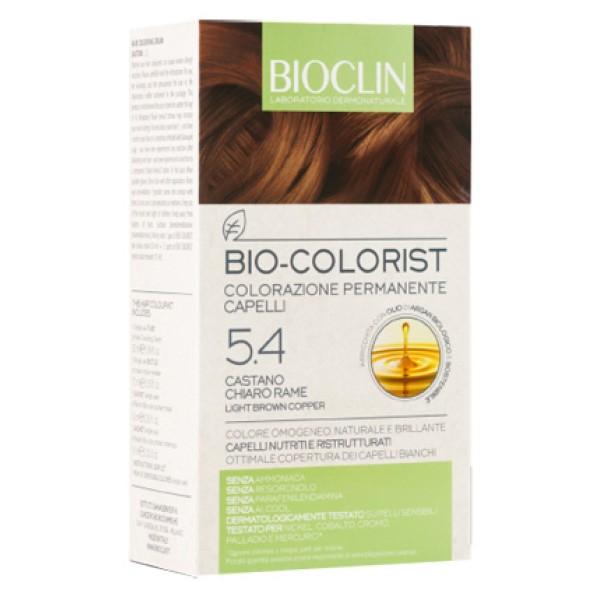 Bioclin Bio Colorist 5.4 Castano Chiaro RameTintura Naturale per Capelli