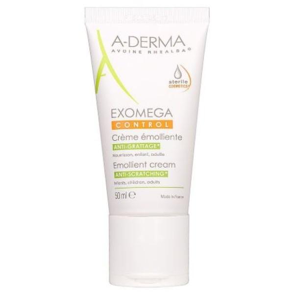 A-Derma Exomega Control Crema Emolliente Sterile Anti-Grattage 50 ml
