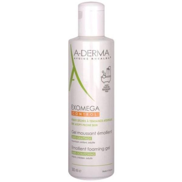A-Derma Exomega Control Gel Detergente Emolliente Pelle Secca 500 ml