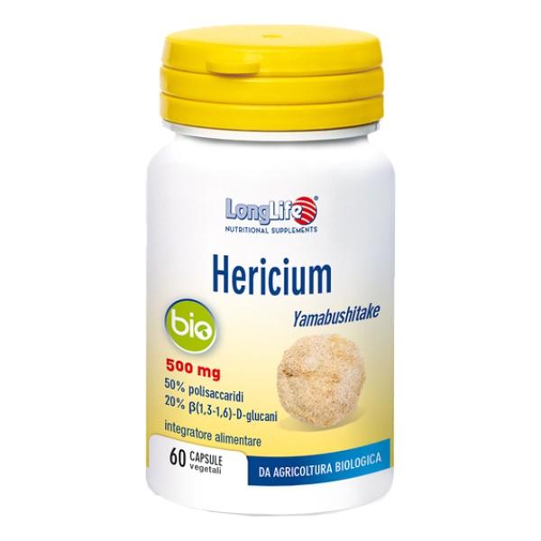 Longlife Hericium Bio 60 Capsule - Integratore Difese Immunitarie