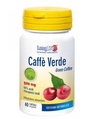 Longlife Caffe Verde 60 Capsule - Integratore Dimagrante