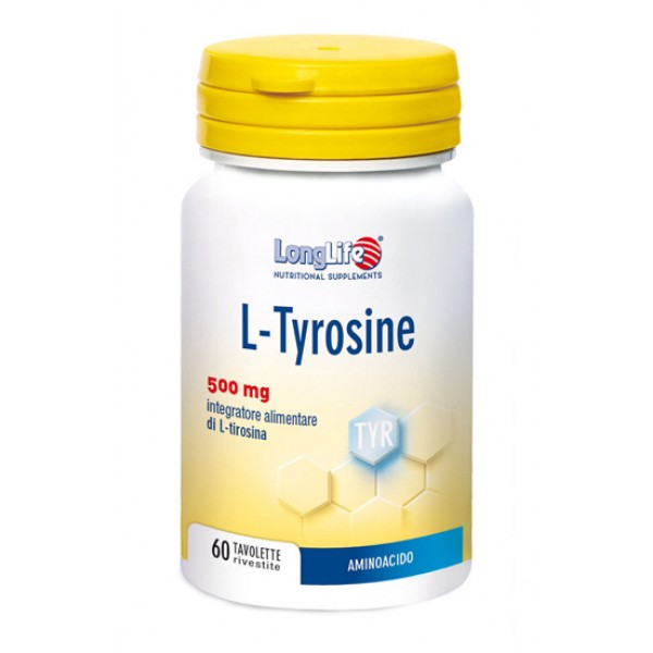 Longlife L-Tyrosine 60 Tavolette - Integratore Aminoacidi