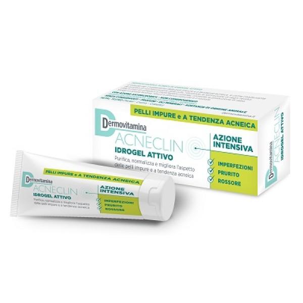 DermoVitamina Acneclin Idrogel Attivo Trattamento Acne 40 ml
