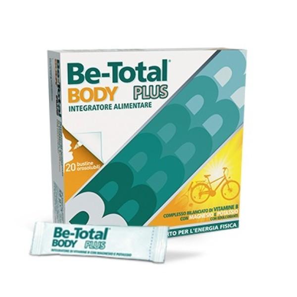 Be-Total Body Plus Integratore Magnesio e Potassio 20 Bustine