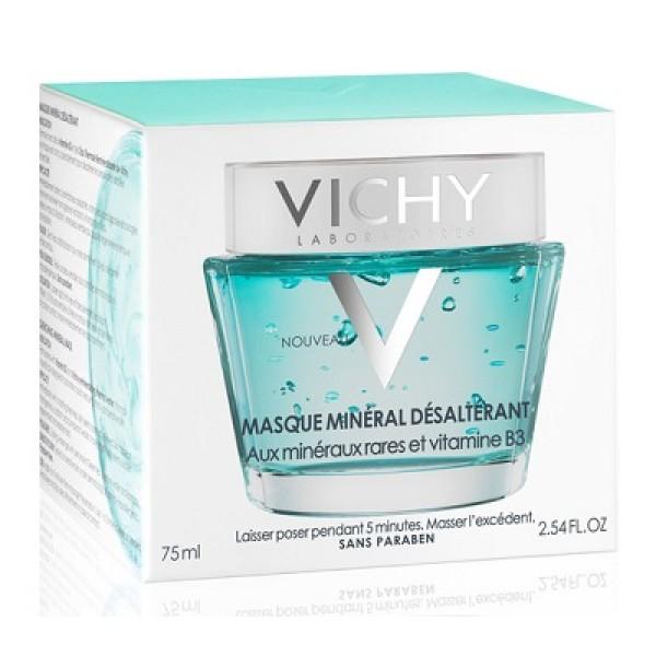 Vichy Maschera Minerale Dissetante Lenitiva Viso 75 ml