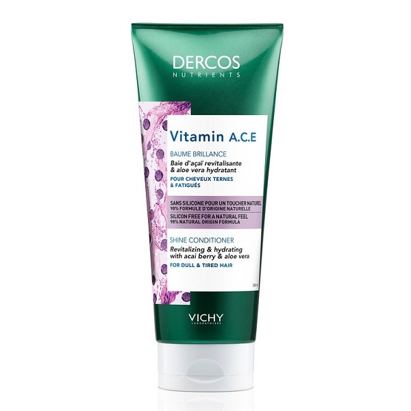 Vichy Dercos Nutrients Balsamo Illuminante Vitamin 200 ml
