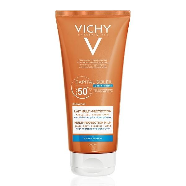 Vichy Capital Soleil Beach Protect Latte Solare Multi-Protezione SPF 50+ 200 ml