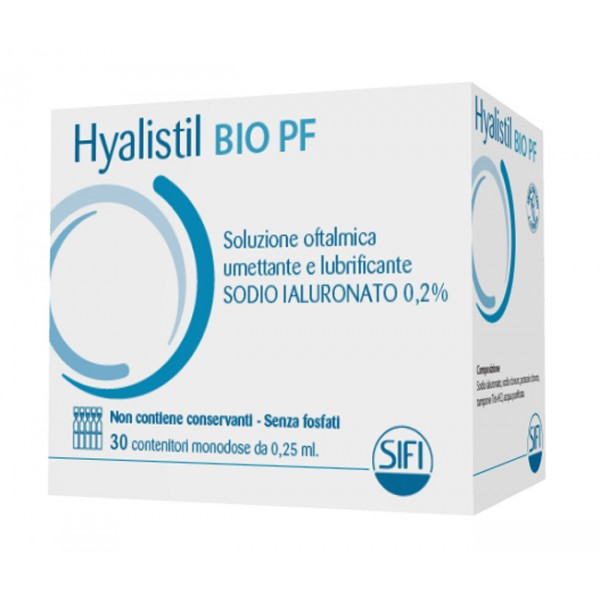 HYALISTIL BIO-PF 30fl.0,25ml