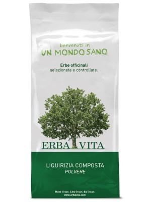 Erba Vita Liquirizia Composto Polvere Tisana 100 grammi - Integratore Lassativo