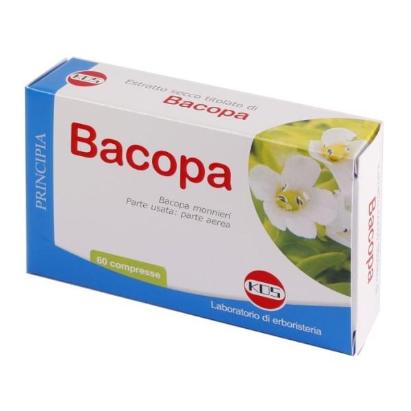 Kos Bacopa 60 Compresse - Integratore Memoria e Benessere Mentale