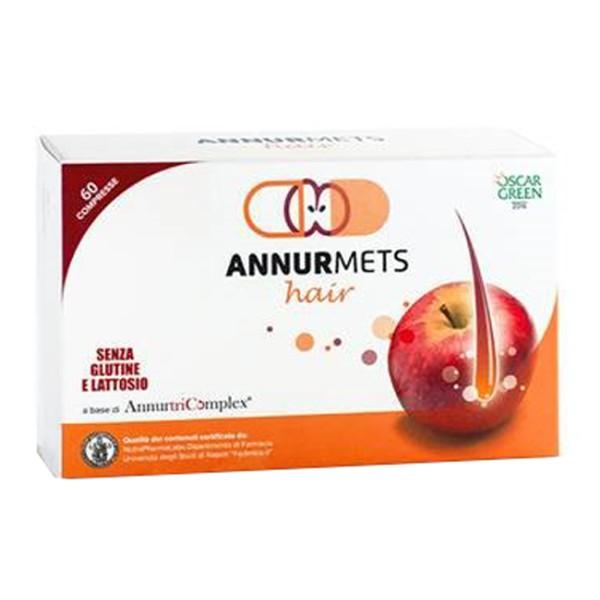 AnnurMets Hair 60 Capsule - Integratore per Capelli con Melannurca