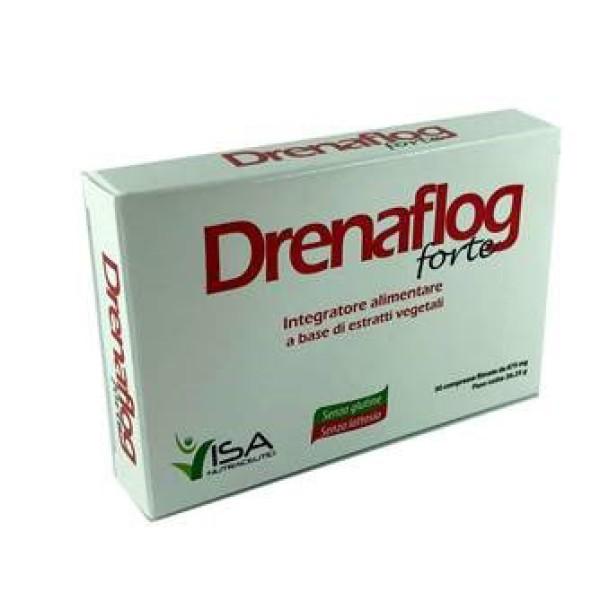 Drenaflog Forte 30 Compresse - Integratore Alimentare