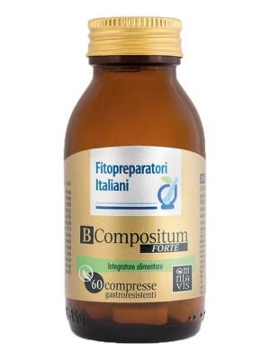 Selerbe B Compositum Forte 60 compresse - Integratore Alimentare Vitamine B