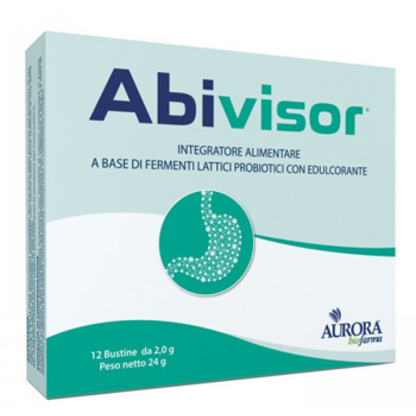 Abivisor Integratore Fermenti Lattici Probiotici 12 Bustine
