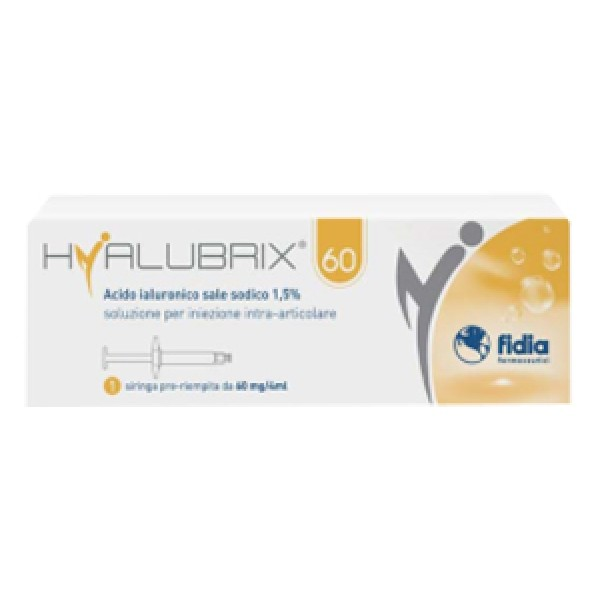 Hyalubrix 1 Siringa Intra Articolare 60 mg/4 ml