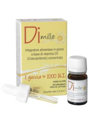 Dimille Gocce 3,5ml - Integratore Alimentare Bambini Vitamina D3