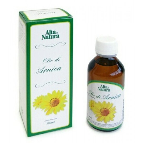 Alta Natura Olio Arnica Lenitivo Antiossidante 100 ml