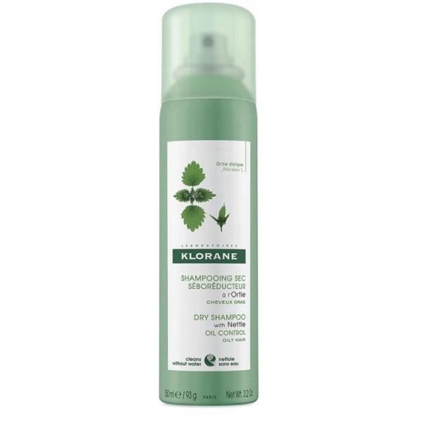Klorane Ortica Shampoo Secco Seboregolatore Capelli Grassi 150 ml