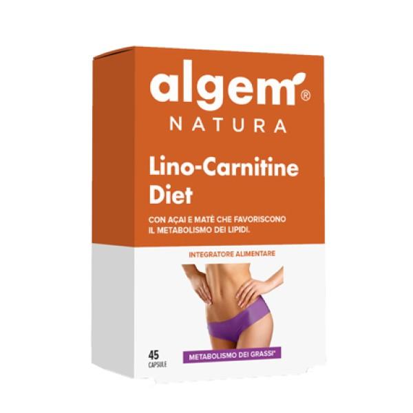 Algem Lino Carnitene Diet  45 Capsule - Integratore Controllo del Peso Corporeo