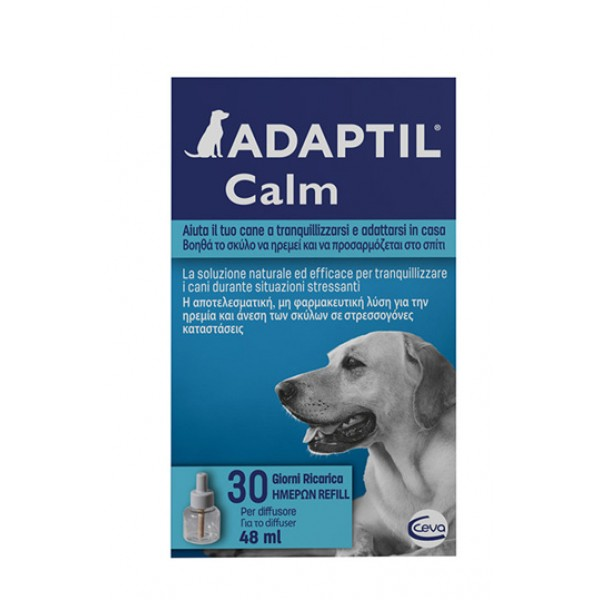 Adaptil Ricarica Diffusore Antistress Cani 48 ml