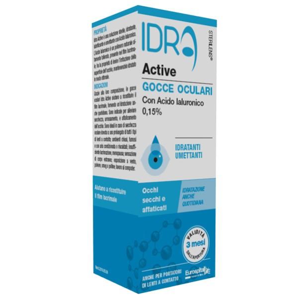 Sterilens Idra Active Gocce Oculari 10 ml