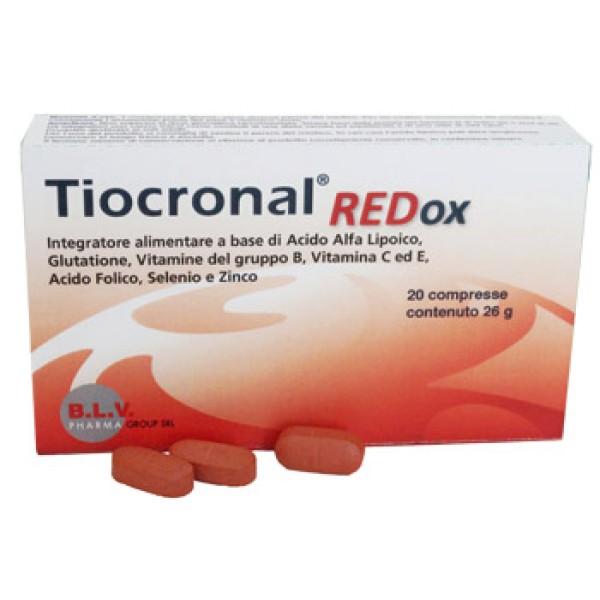 Tiocronal Redox 20 Compresse - Integratore Alimentare