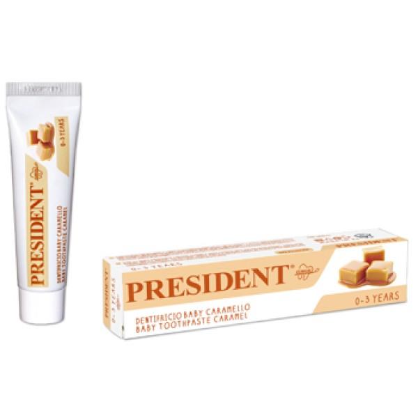 PRESIDENT*Baby Dent.Caramello