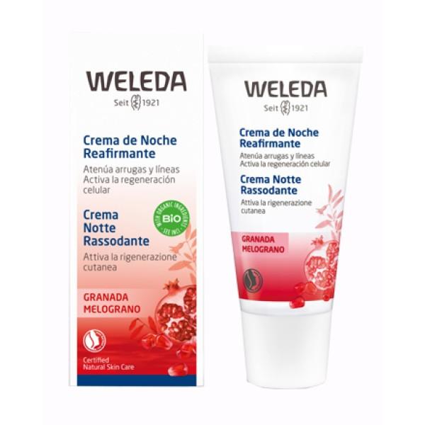 Weleda Crema Notte Rassodante al Melograno 30 ml
