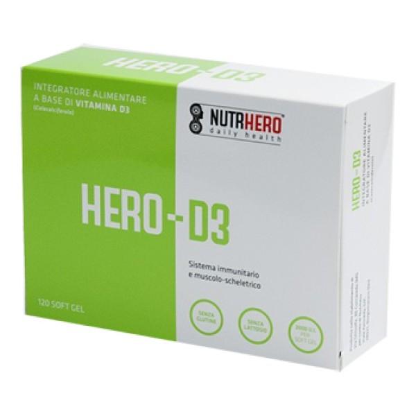 HERO D3 120 Cps SoftGel