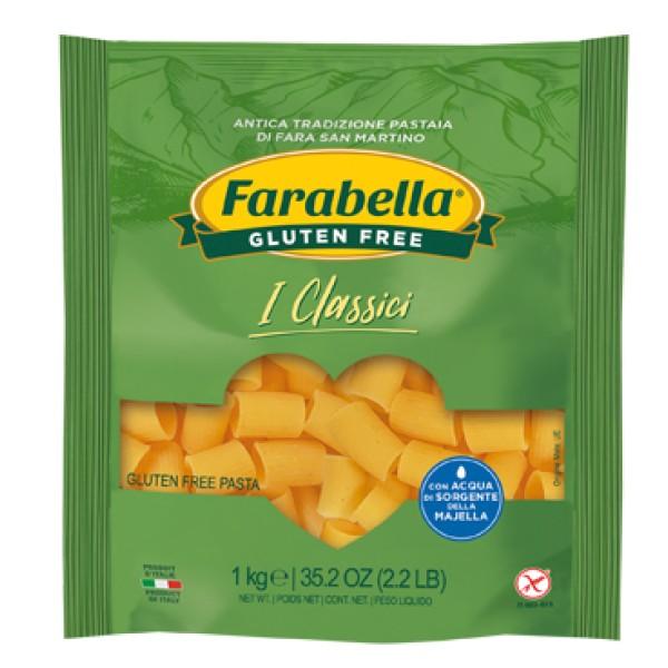 Farabella Senza Glutine Pasta Mezzi Rigatoni 1 Kg