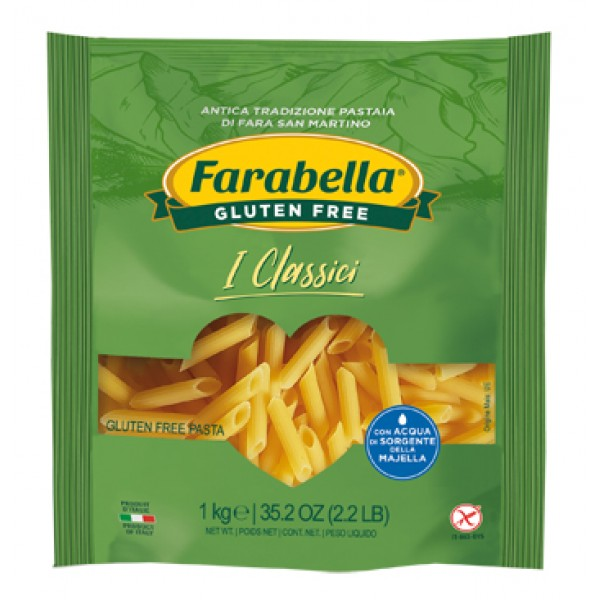 Farabella Senza Glutine Pasta Penne Rigate 1 Kg