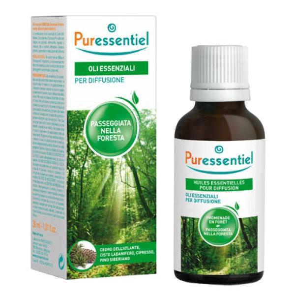 Puressentiel Oli Essenziali per Diffusore Miscela Passeggiata nella Foresta 30 ml