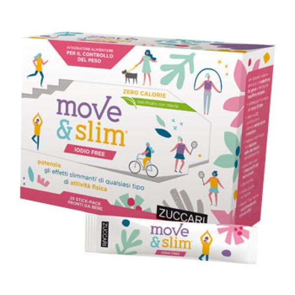 Move & Slim Iodio Free 25 Stick - Integratore Alimentare