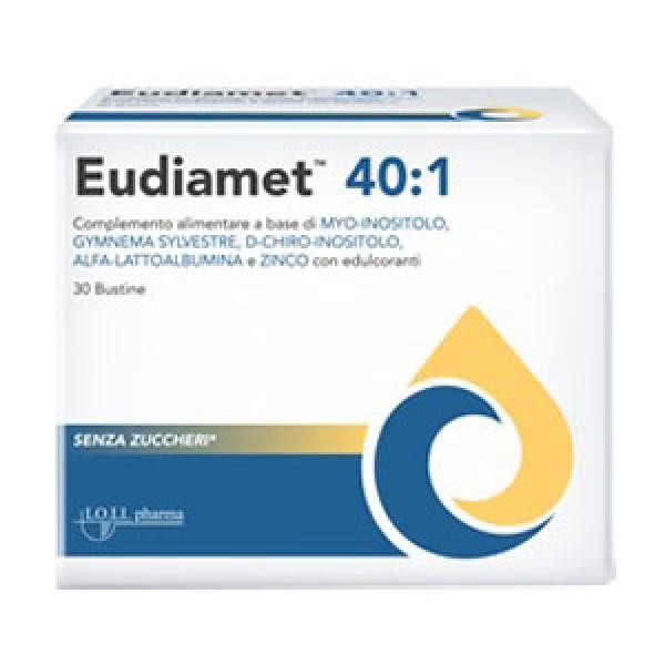 Eudiamet 40:1 30 Bustine - Integratore Alimentare