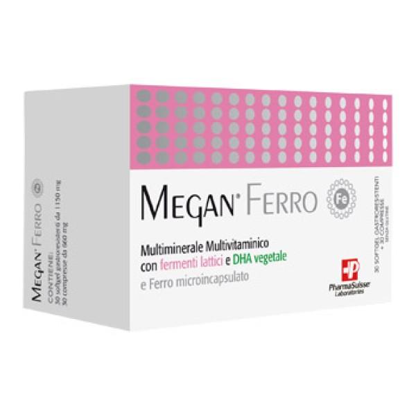 Megan Ferro 30 Softgel + 30 Compresse - Integratore Alimentare