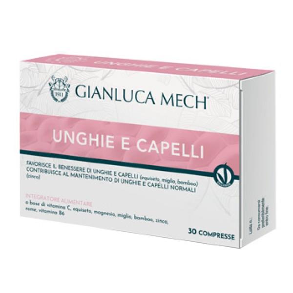 Unghie e Capelli Mech 30 Compresse - Integratore Alimentare
