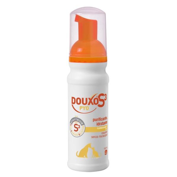 Douxo S3 Pyo Mousse Cani e Gatti 150 ml